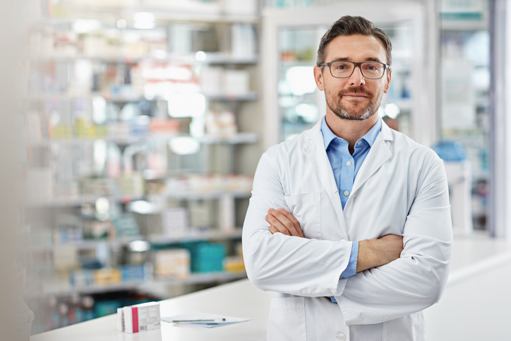 Portrait Pharmacien